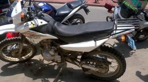 Moto recuperado