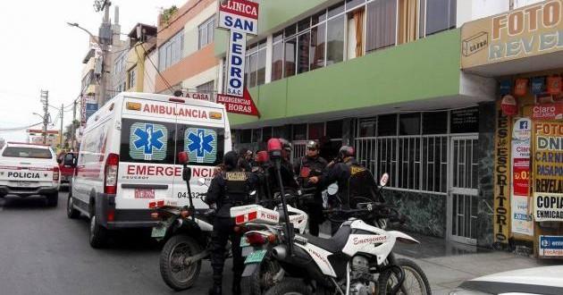 NEGLIGENCIA MEDICA EN CLÍNICA SAN PEDRO