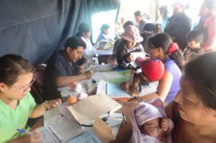 pacientes de campaña medica
