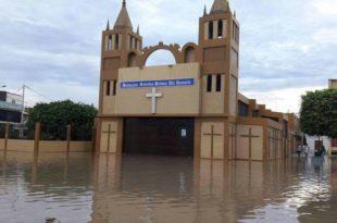 iglesia inundada